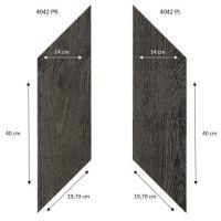 Вінілова підлога Forbo Effekta Professional 4042 PR-PL Black Fine Oak PRO