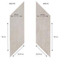 Вінілова підлога Forbo Effekta Professional 4043 PR-PL White Fine Oak PRO