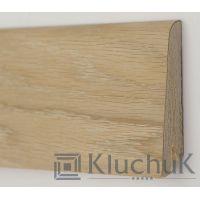 Плинтус Kluchuk Rustique 60мм и 80 мм Дуб шлифованный